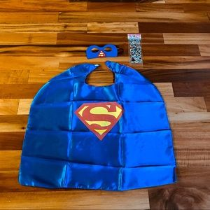 Cape and mask for kids DC and marvel superheroes